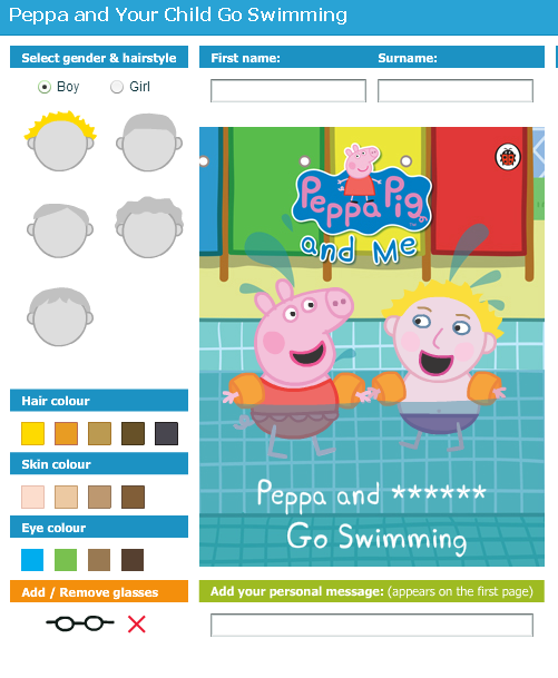 Penwizard Peppa Pig Swims With Your Child The Mini Mes And Me