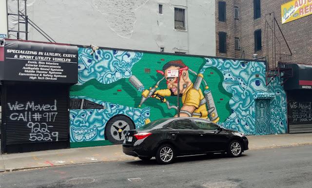 Мурали Нью-Йорку (Murals, NYC)