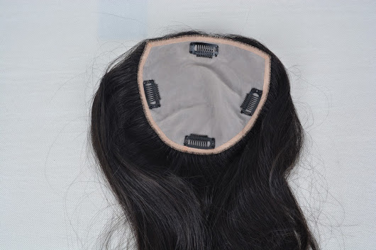 New Product Launched: Human Hair Topper Silk Top