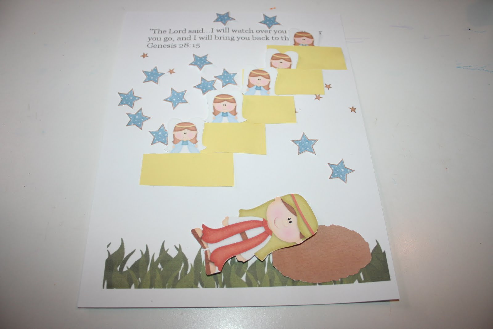 Our Country Road Bible Activity Book Jacob S Ladder Free Printable