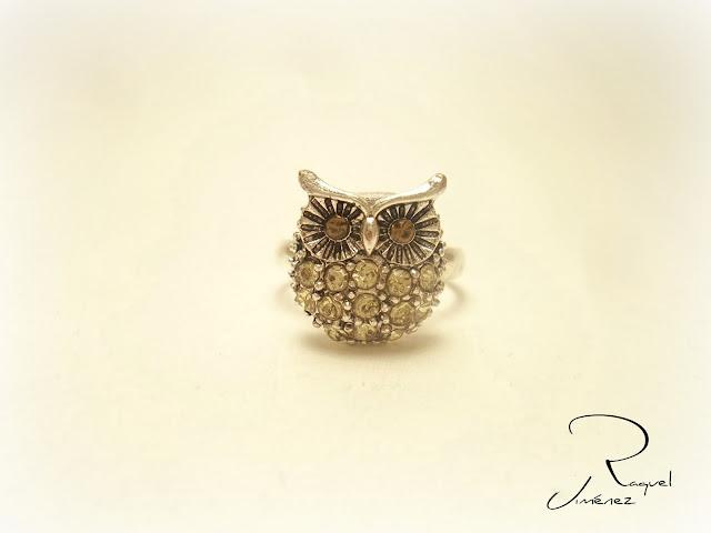 anillo búho