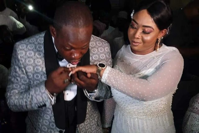 Nollywood actrees denies marrying NURTW boss Kunle Poly for money