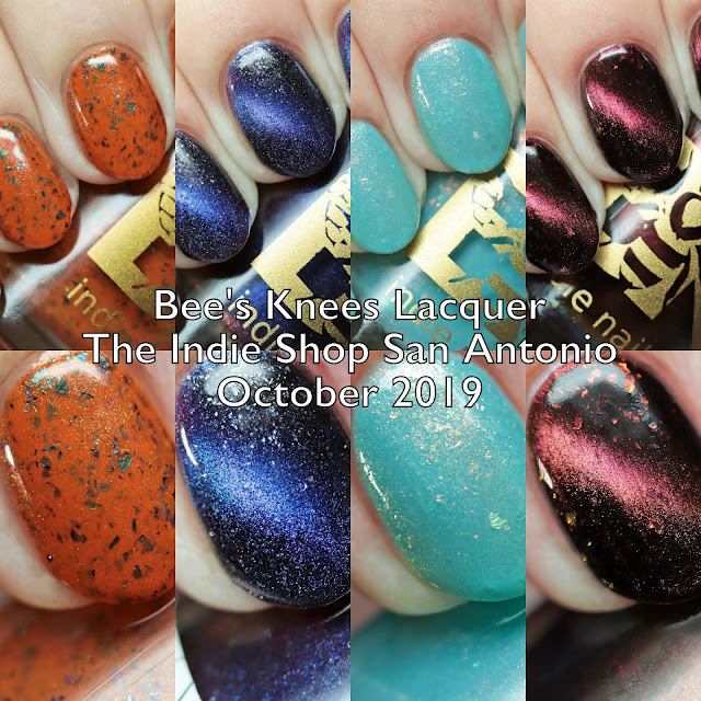 Bee's Knees Lacquer The Indie Shop San Antonio Limited Editions and Exclusive Fall 2019