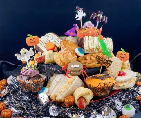 Kids Halloween Afternoon Tea from the French Oven