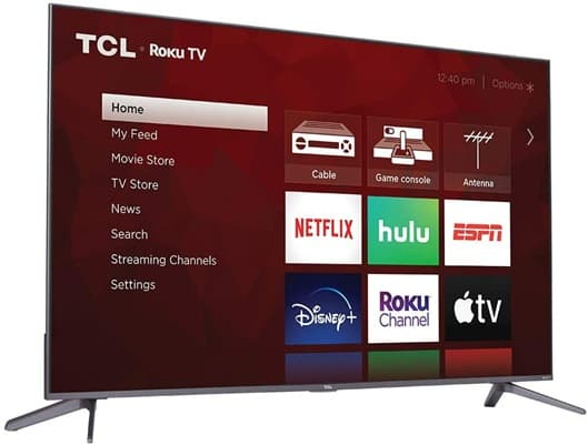 TCL 50S535: 50 '' Smart TV with Roku, Alexa and Google Assistant support and 4K resolution