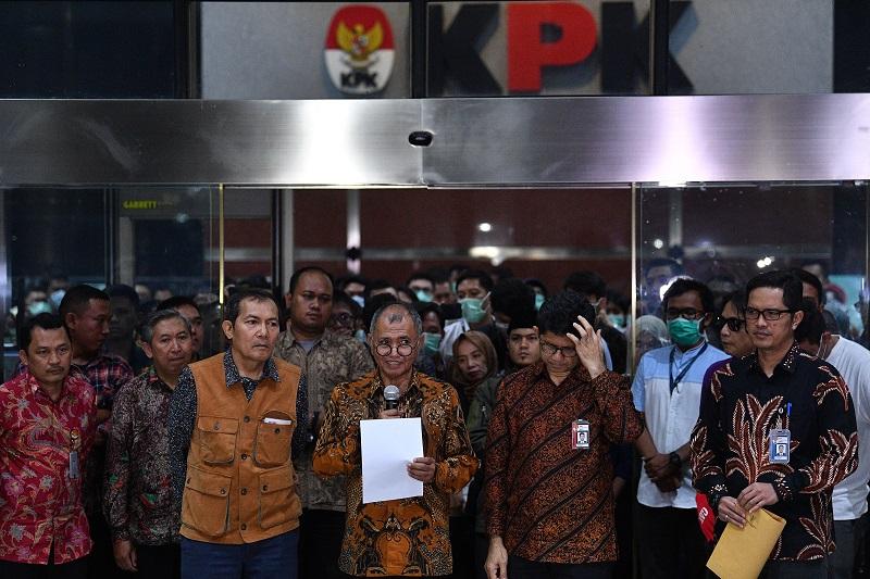 Penyerahan Mandat Pimpinan KPK Dinilai Sebagai Jebakan Untuk Jokowi