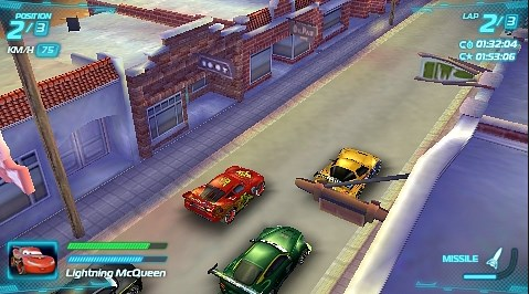 Game Cars 2 PPSSPP
