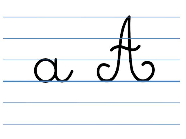 أفضل طريقة لكتابة الحروف باللغة الفرنسية على الكراسة