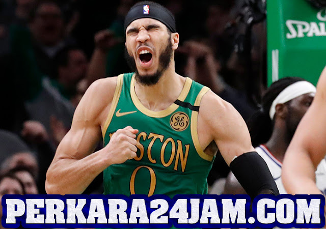 Boston Celtics Berhasil Jinakkan LA Clippers Berkat Aksi Jayson Tatum