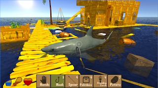 Raft Survival Simulator Apk Mod Unlocked all item