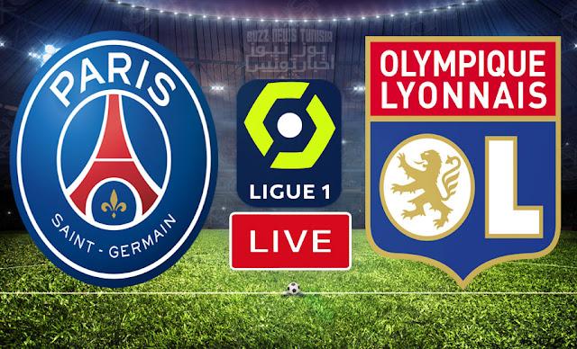 Match FootBall: Paris Saint Germain vs Olympique Lyonnais En Direct Ligue 1