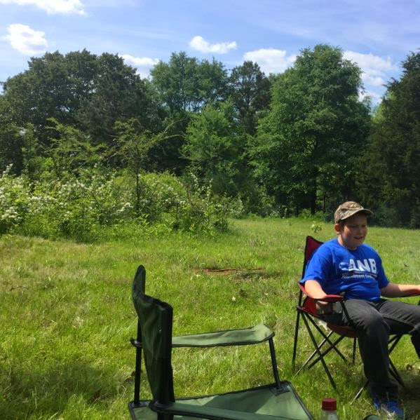 family campout, camping out, family fun activity