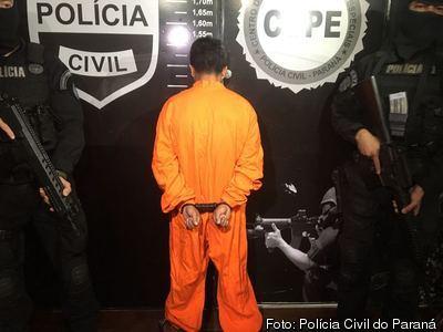 Foragido da Justiça é preso com arma e munições