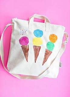come realizzare borsa con gelati