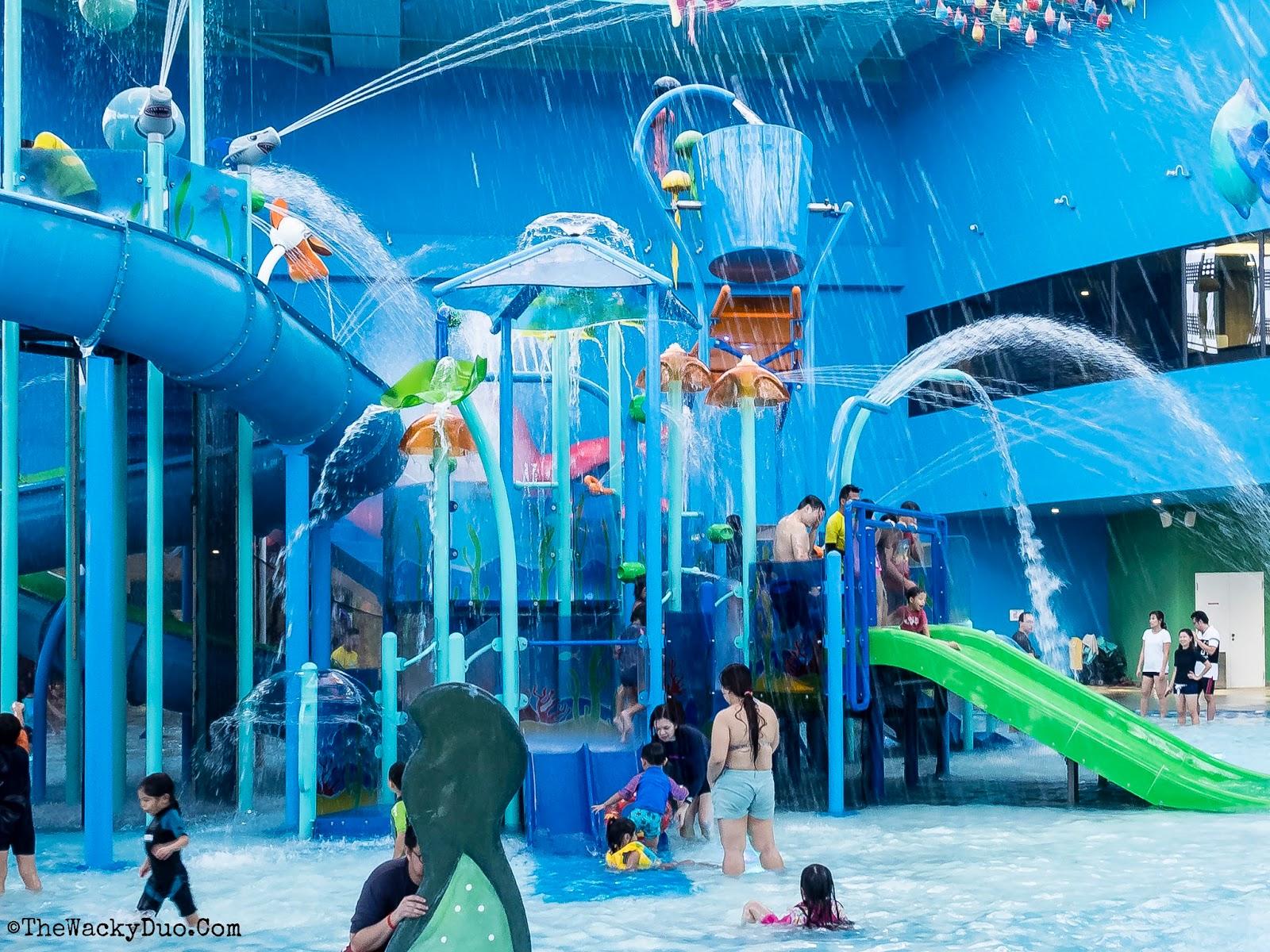 Splash Kidz Amaze Safra Punggol Review The Wacky Duo Singapore Family Lifestyle And