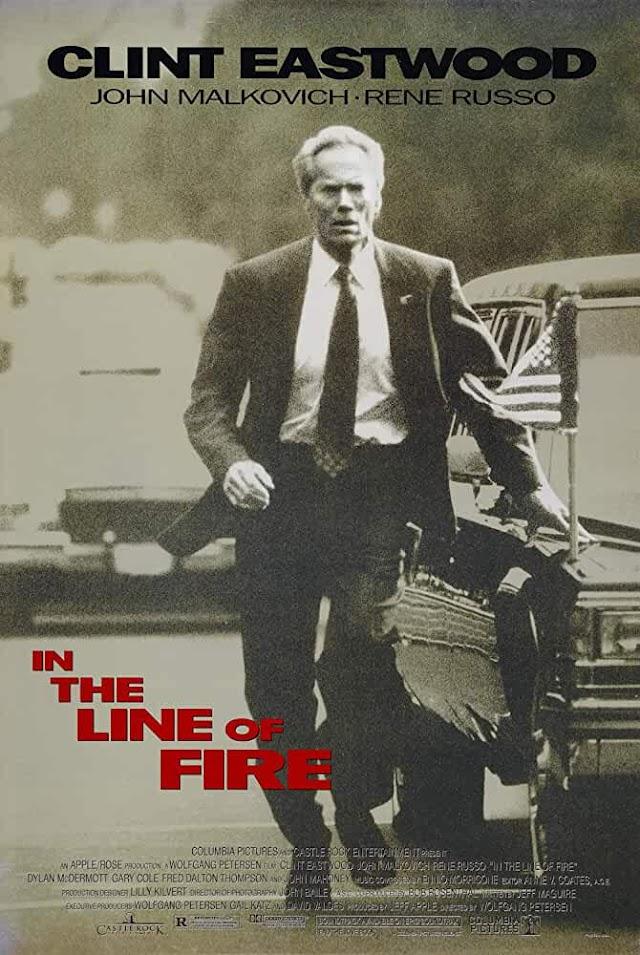 In The Line Of Fire 1993 x264 720p Esub BluRay Dual Audio English Hindi GOPI SAHI