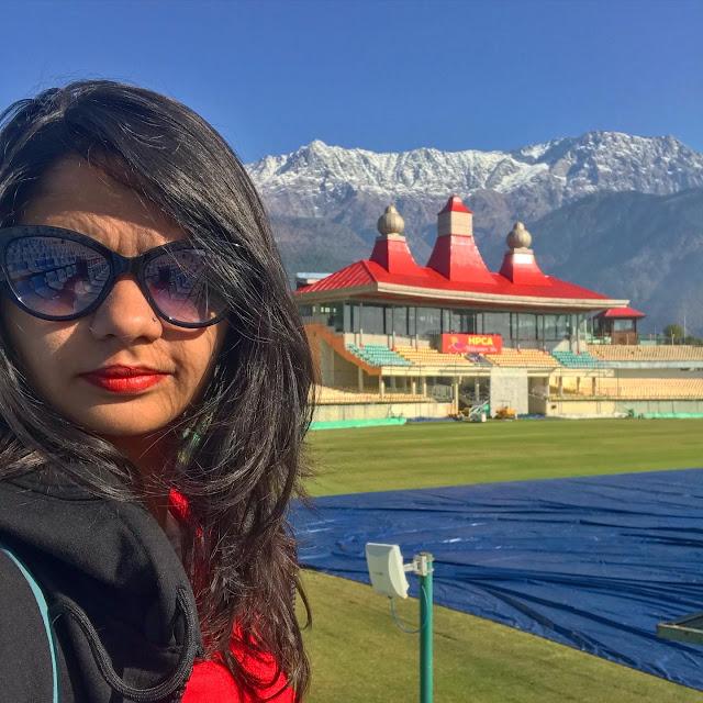 Himachal Pradesh Cricket Association Stadium, Dharamshala, Himachal