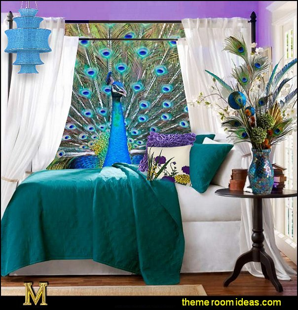 peacock bedroom ideas peacock theme bedroom decorating ideas
