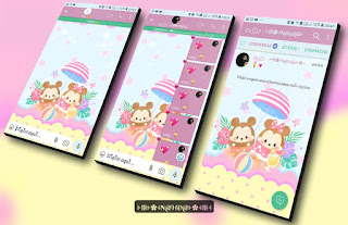Mickey On Minnie Theme For YOWhatsApp & Fouad WhatsApp By Nanda