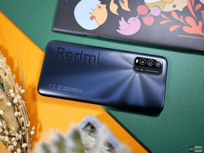 Redmi 9T back design