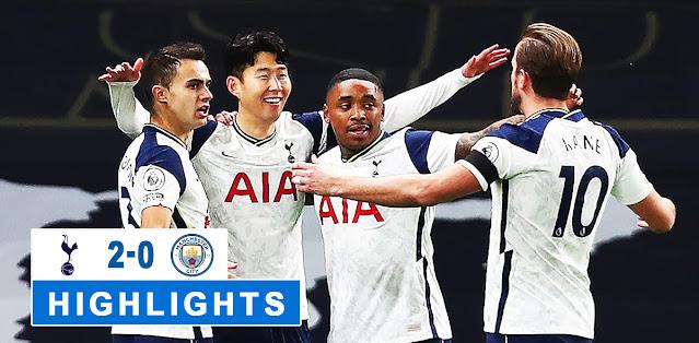Tottenham Hotspur vs Manchester City – Highlights