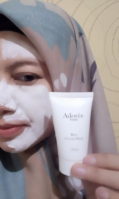 Review-adoree-paris-rice-face-mask