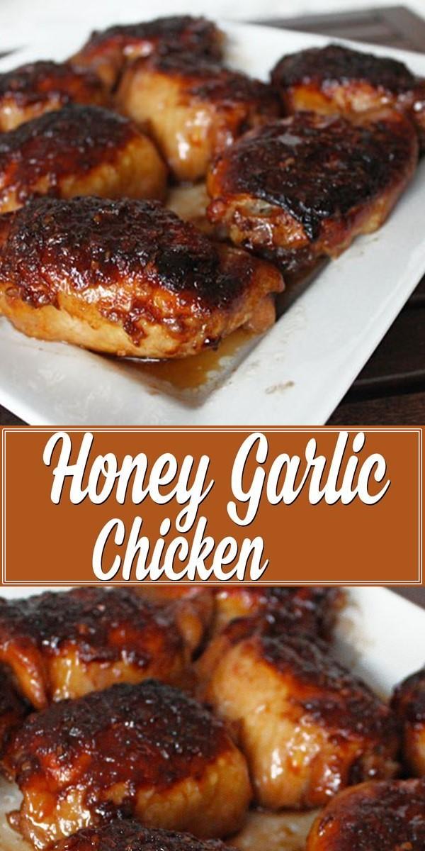 Honey Garlic Chicken (plus some really tasty sauce!) #Dinnerrecipes