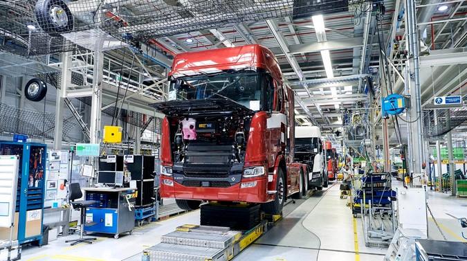 Scania retomará produção de caminhões na Holanda