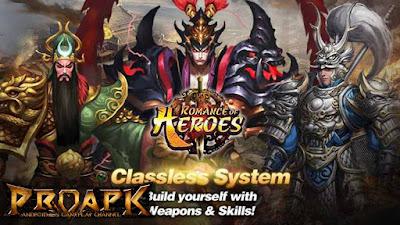 Romance Of Heroes Mod Apk v5.5 High Damage