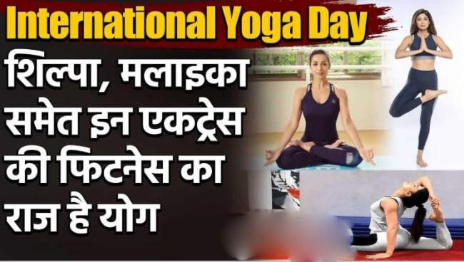 international yoga day 5 bollywood divas who inspire people to stay fit with yoga