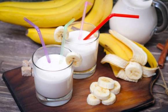 Batido De Yogur De Banana
