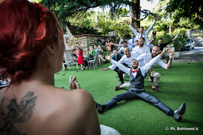 foto matrimonio divertente