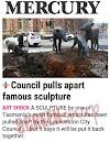 Launceston Council Civic Square $20K?, $40K?, $50K? Shock Stuff Up