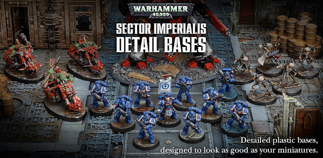 Sector Imperialis Detail Bases + Metal and Gem New Paints