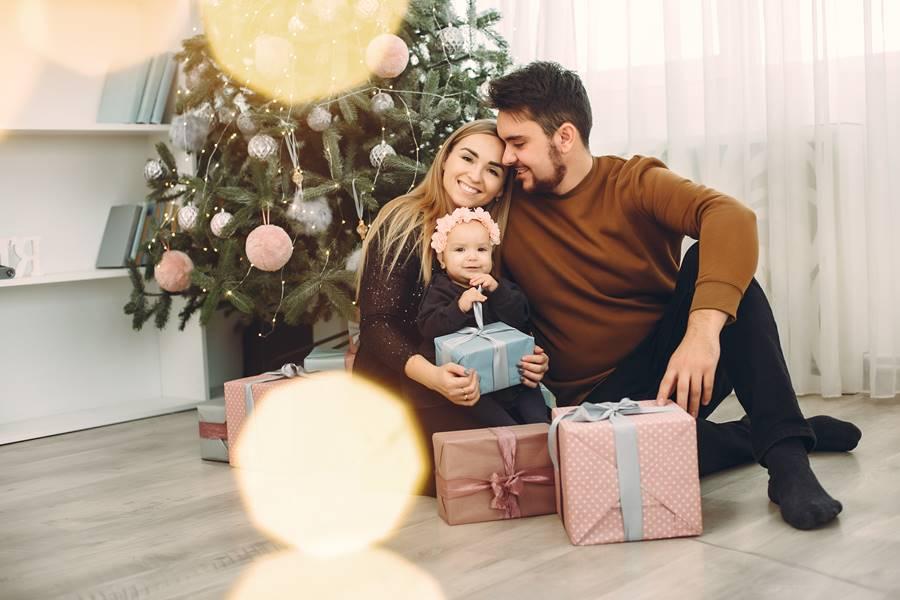 Su primera navidad