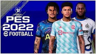 Download eFootball PES 2022 PPSSPP Full Updates Camera PS5 & New Transfer And Full Team Promotion