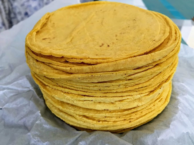 Tortilla wraps recipe