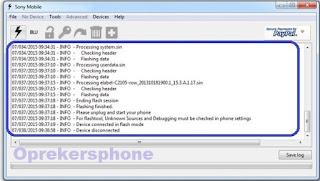 Cara Flashing Sony Xperia Z3 D6603 official dengan mudah