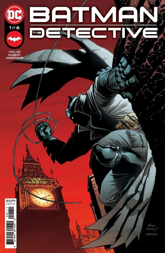 Cover of Batman: The Detective #1