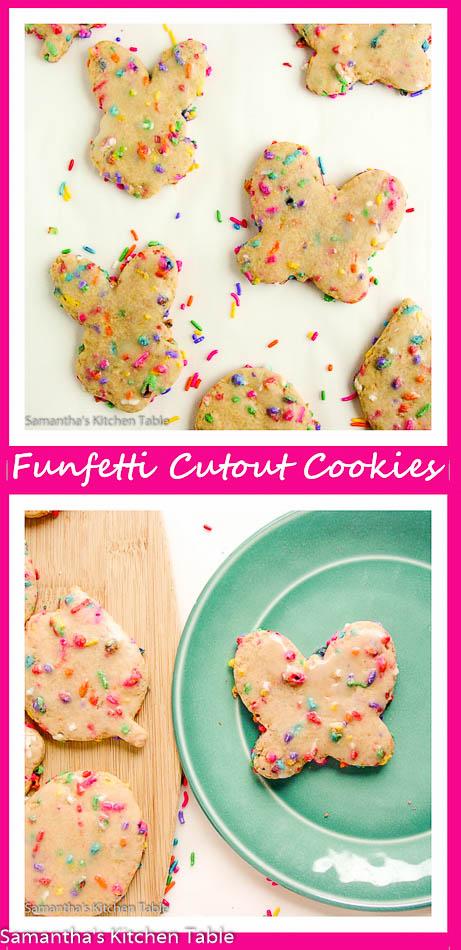 Funfetti Cutout Cookies