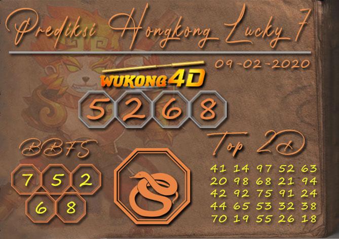 Prediksi Togel HONGKONG LUCKY 7 WUKONG4D 09 FEBRUARI 2020