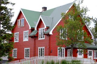 Casa de campo noruega