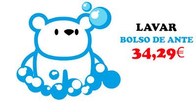 limpiar bolso de ante tintorería Sevilla El Oso Polar