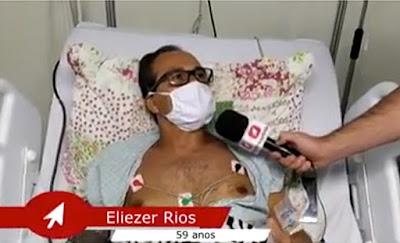 Calmonense se recupera da COVID-19 em São Paulo – confira na matéria