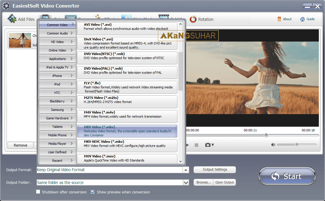 Download EasiestSoft Video Converter 3.8.0 Full Version