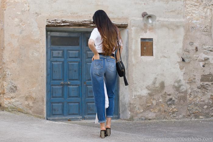 Pantalones vaqueros Jeans mom fit cintura alta modelo Romi de Meltin' Pot