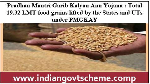 Pradhan Mantri Garib Kalyan Ann Yojana