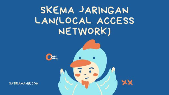 Skema Jaringan LAN(Local Access Network)