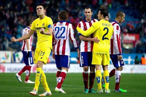 Ver en directo el Atlético de Madrid - Villarreal