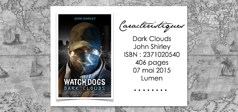 Couverture du livre Watch dogs dark clouds de John Shirley